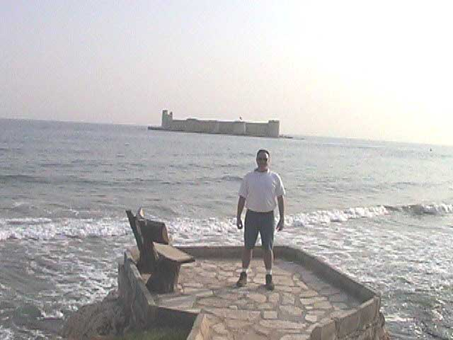 Castle in the Sea!!!